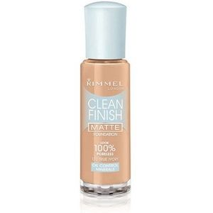 Rimmel Clean Finish Matte Foundation, 130 Ivory